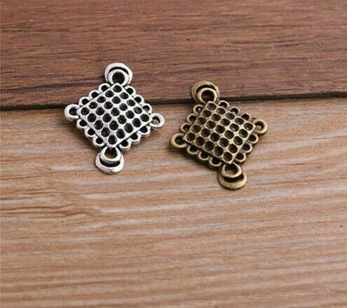 Metal Hollowed Pendant Necklace Zinc Alloy Durable Charms For Jewelry Making New