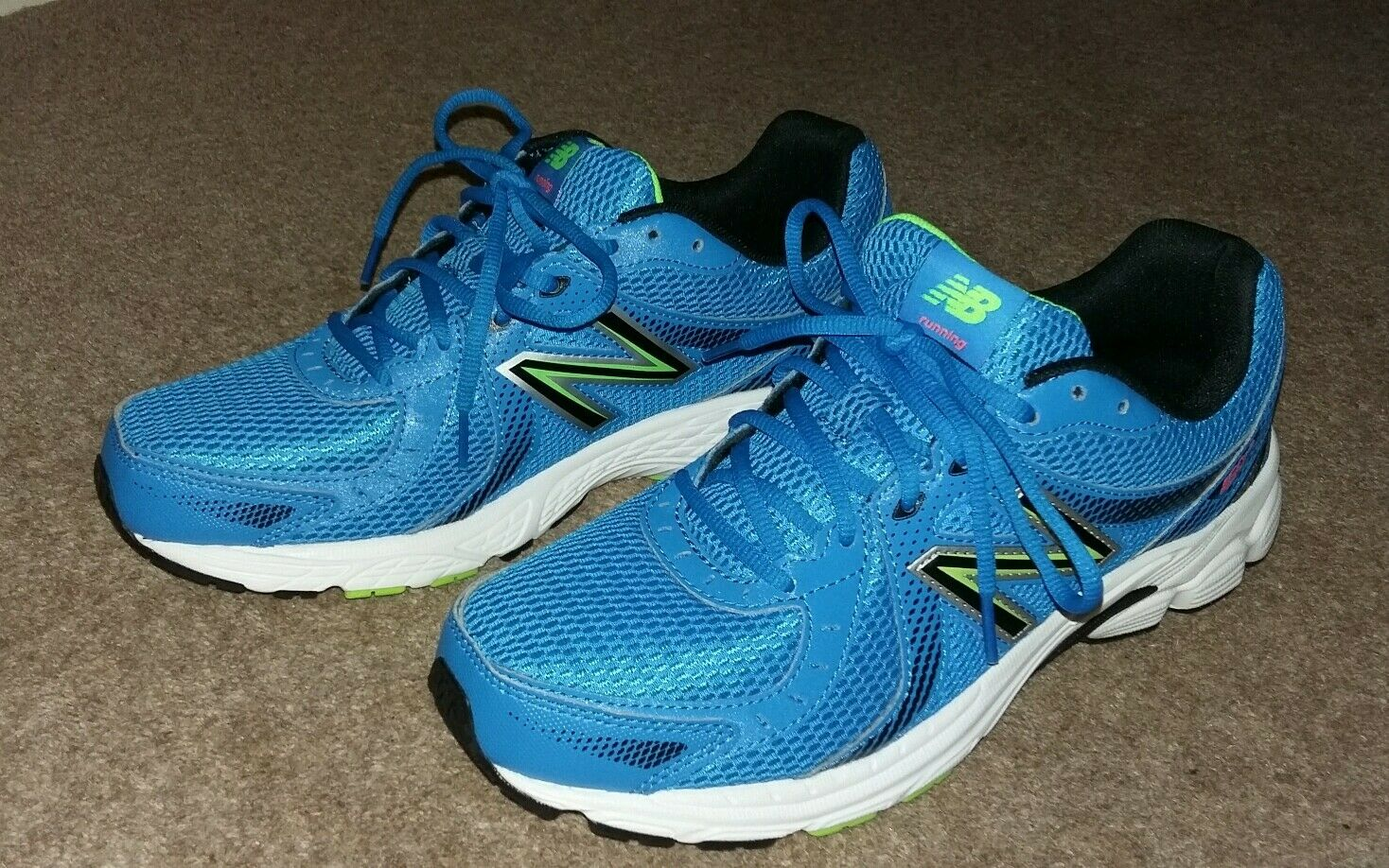 Unisex Men's Women's New Balance 450 v3 bluee Trainers size 8 with white sole