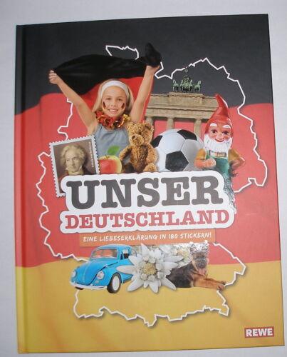 """Sammelalbum von Rewe /""""Unser Deutschland/"""" NEU und noch in Folie!"""