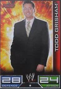 Officiel WWE SLAM ATTAX-Todd Grisham carte brut