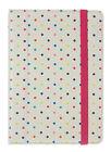 Trendz Apple iPad Mini 7 Inch Folio Cover Case Polka Dot With Closing Strap