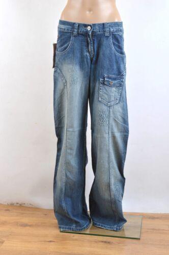 BNWT Park Flash London Hip Hop Wide Leg Jeans Vintage 90s 8//10//12//14 Distressed