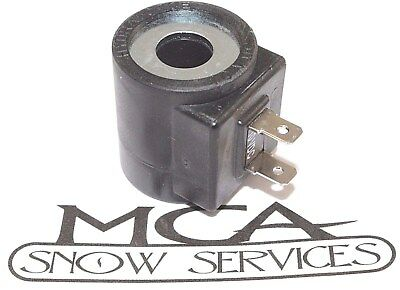 WESTERN FISHER BOSS SNOW PLOW VALVE COIL HYD01638 49230 7639