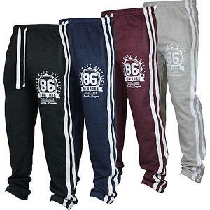 80ccccee0b09 ... Nouveau-Homme-Survetement-Pantalon-Polaire-Survetement-Jogging-Trackies-