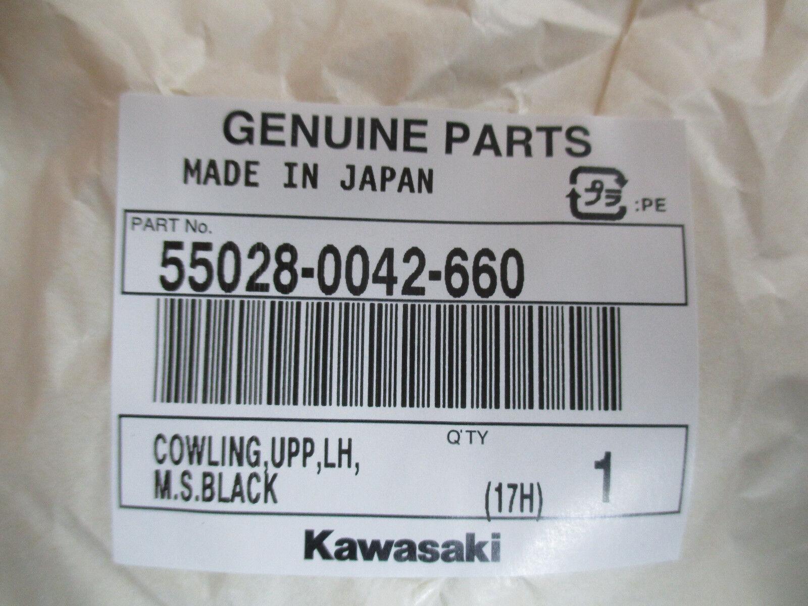o804# Kawasaki Z750S ZR750S 05-06 Verkleidung vorne links Fairing Original NEU