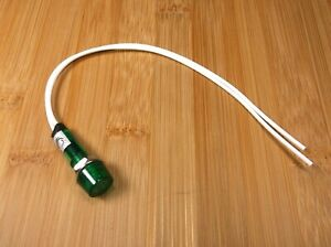 3 BBT Marine Grade 120 volt Waterproof Green LED Low-Profile Indicator Lights