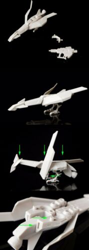 JOKER Amazing Weapon LEV D for Bandai 1//144 HG RG RX-93-ν2 Hi-v Gundam model*