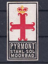 Reklamevignette für das Stahl - Sol. Moorbad Pyrmont in Niedersachsen