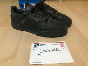 c60c6792c9c ADIDAS YEEZY POWERPHASE CALABASAS MENS SIZE 7 CORE BLACK Used 100 ...