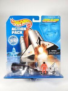 Hot-Wheels-John-Glenn-Great-American-Hero-Action-Pack-Diorama-NEW-NIB