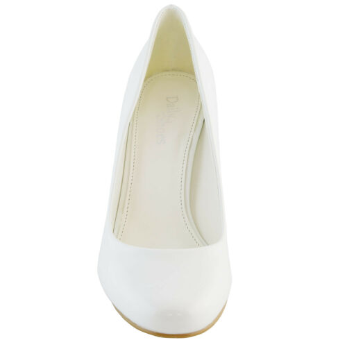 DailyShoes Womens Classic Fashion Round Toe Lily-01 High Heel Dress Pump Shoes