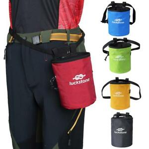Image Is Loading Rock Climbing Chalk Bag Magnesium Powder Pouch Spring