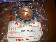 NOS 70-71 HONDA CB100 CL100 CL100S SL125 EXHAUST PIPE JOINT 18231-303-000