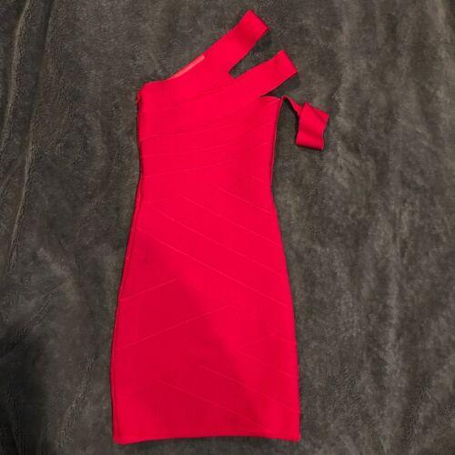 350 Rouge Stretta Carla Bandage Robe Xs wAa6q7Xq