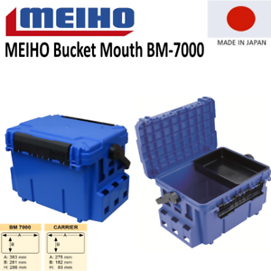 MEIHO Bucket Mouth BM-7000 blue Angler Box Jetzt in der Farbe blau!!!