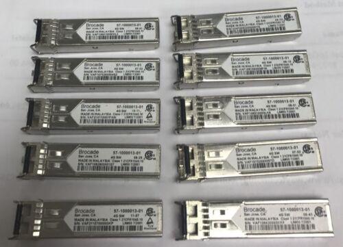 10pcs lot Brocade 1000BASE-SX 4GB SFP 850nm Transceiver GBIC 57-1000013-01