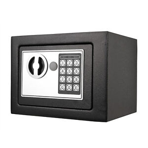 Details about Security Safe Box Digital Electronic Home Office Use Security  Money Safety Cash