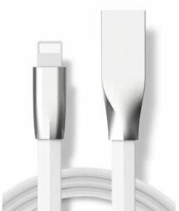 Genuine-Zinc-Alloy-USB-Lightning-Data-Sync-Charging-Cable-For-iPhone-5-6S-7-Plus