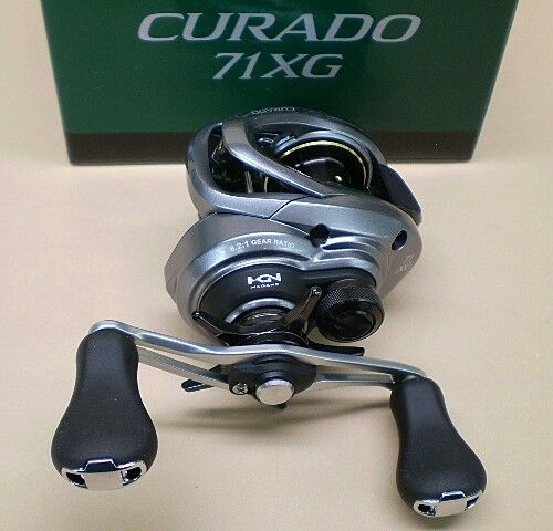 Shimano Curado 71XG Low Profile Baitcast Reel 8.2 1 Left Hand Model CU-71XG