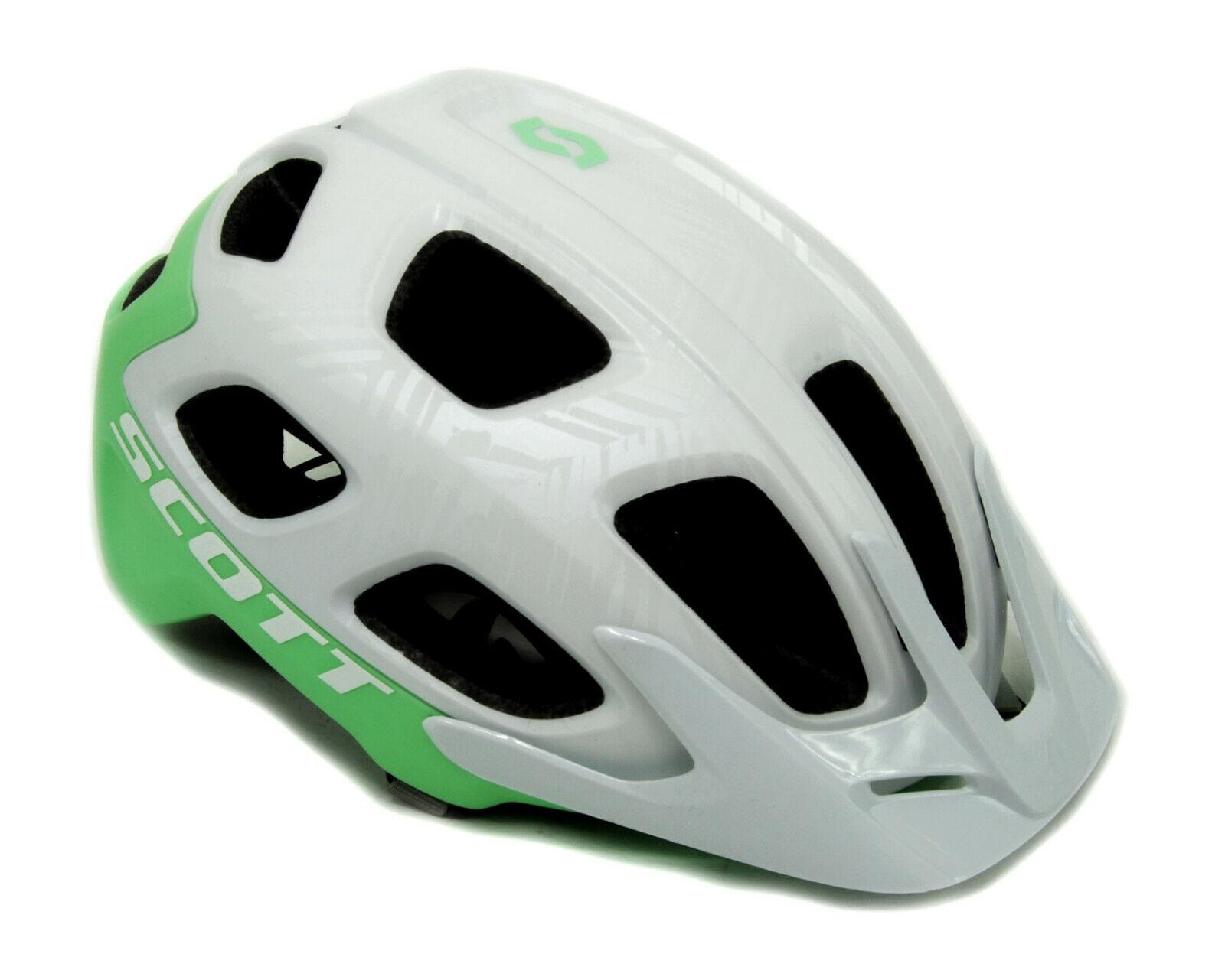Scott Vivo Plus MIPS Bicycle Helmet Small 51-55cm $120 MSRP White//Mint Green