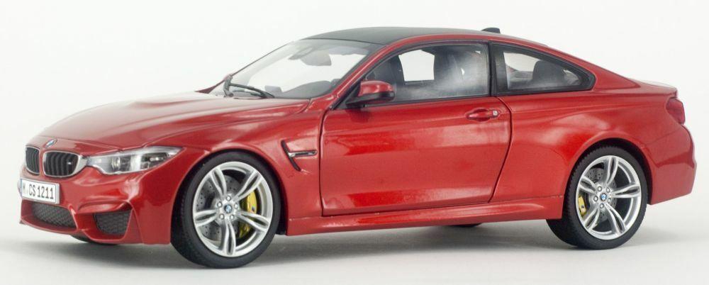 Paragon 97101 97102 97103 BMW M4 Coupé Modelo Coches Naranja Plata Amarillo 1 18