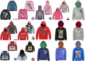 Boys-Girls-Kids-Character-Jumper-Hoodie-Hoody-Jacket-Top-Sweatshirt-age-2-10-yrs