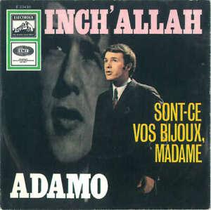 Adamo-Inch-039-Allah-7-034-Single-RP-Vinyl-Schallplatte-38534