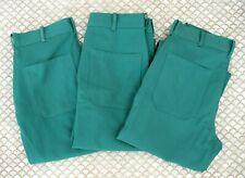 Lot Of 3 Tillman Green Welding Flame Resistant Pants Fr 7a 6700 Mens 46x32 New