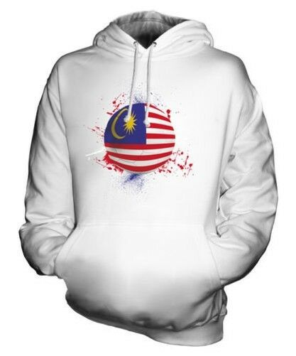 MALAYSIA FOOTBALL UNISEX HOODIE TOP GIFT WORLD CUP SPORT