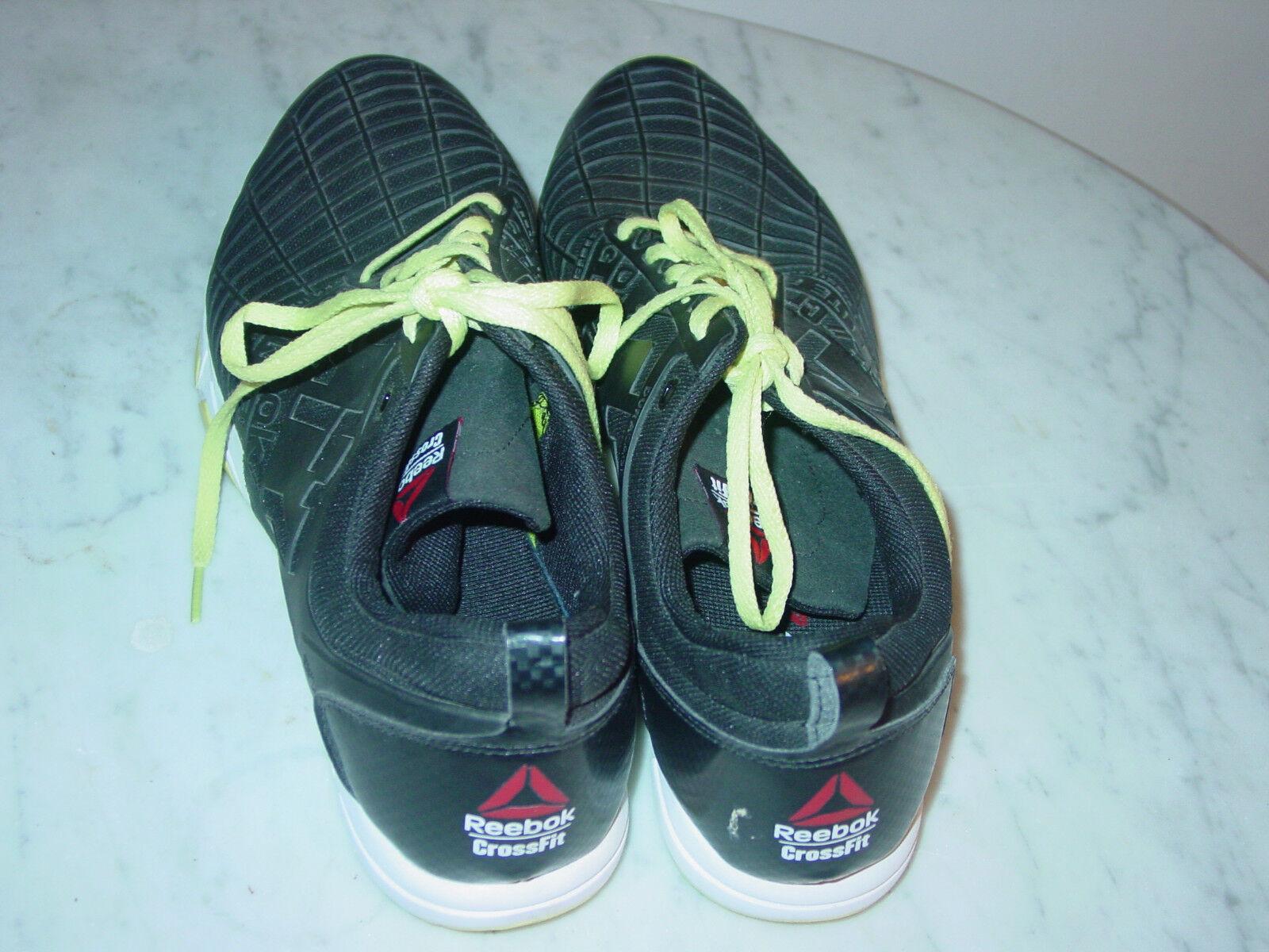 42cc13923c7 Reebok Crossfit Sprint TR Mens Training Shoes Black white M42687 13 ...