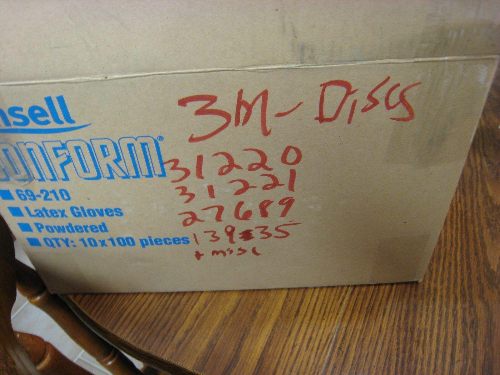 "Box of 50 3M 5/"" NX PSA Paper Disc w//Tab P60 31212"