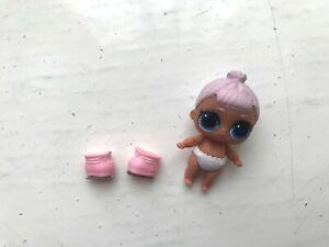 Lol Surprise Poupées Lil Soeurs Snow Bunny Baby Series 5 Hairgoals Toy Figure-afficher Le Titre D'origine