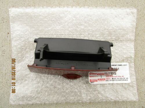 03-08 TOYOTA COROLLA DASH INSTRUMENT CLIMATE CONTROL LOWER PANEL BOX BROWN NEW