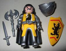 16412, Löwenritter, Ritter, mit Helm, Umhang, Axt, Schwert und Schild