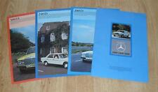 Mercedes Benz 200D 240D 300D W123 Diesel Saloon Brochure Set 1976