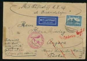 Zeppelinpost-Retour-Brief-Orientfahrt-1929-n-ANKARA-Sieger-Nr-23-I-A-60724