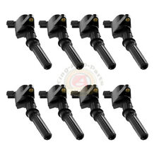 Ignition Coil 8 Pack For Ford Multispark Blaster Epoxy 4.6L 5.4L DG508 F-150 XL