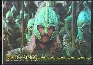 Lord Of The Rings RotK Prismatic Foil Chase Card 1 Of 10