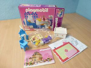 5313 Chambre De Bébé À La Nostalgie Rose Série 5300 Dollhouse 1900 Ovp Playmobil