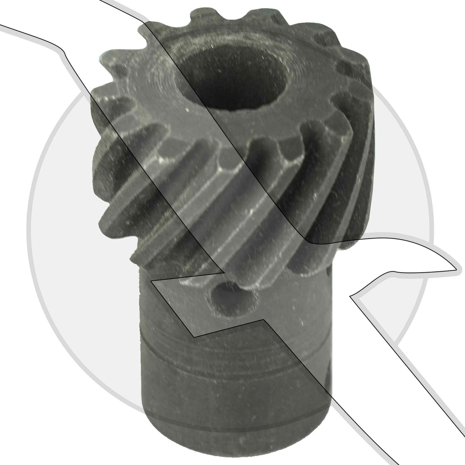 New Mercury Mercruiser Quicksilver Oem Part # 43-818807  1 Gear-Distributor