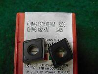 2 Sandvik Cnmg 432 Km 3205 Carbide Inserts
