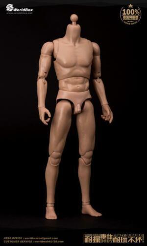 WorldBox Nude 1//6 Men Figure AT011 Narrow Shoulder Durable Action Body