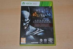 Batman-Arkham-Collection-XBOX-360-Asyl-Stadt-amp-Origins-Kostenlose-UK-Versand