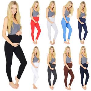 Maternity-Leggings-Full-Ankle-Length-Classic-Cotton-195GSM-V1