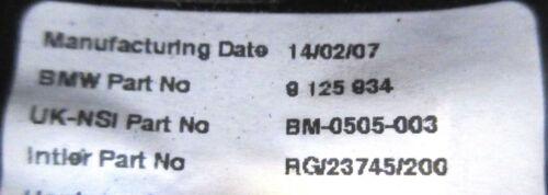9125934 Genuine Used MINI Rev Revolution Counter for R56 R55 R57 R58 R59 /& LCI