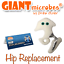 Giant Microbes *** NEW RELEASE *** Original Hip Replacement Giantmicrobes Plush