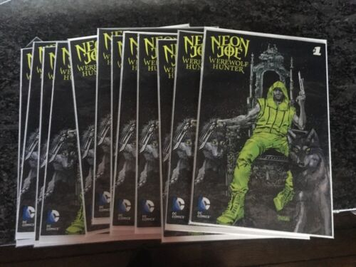 NEON JOE Werewolf Hunter 1 /& 2 Adult Swim NYCC DC Comics JON GLASER CGC CBCS It!