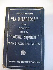 1956 Vintage Republica de Cuba ~ Rare Cuban Collectible Document