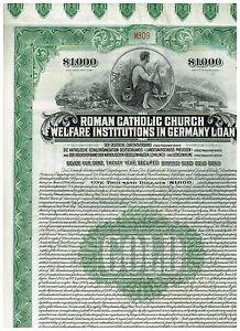 Roman-Catholic-Church-in-Germany-1926-Gold-bond-1000