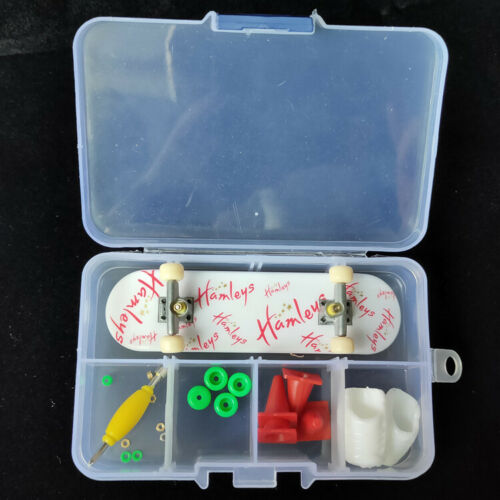Mini Piastic Tech Deck Skate Finger Board Skateboards W//Accessories Toy #04